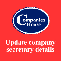 update company secretary details