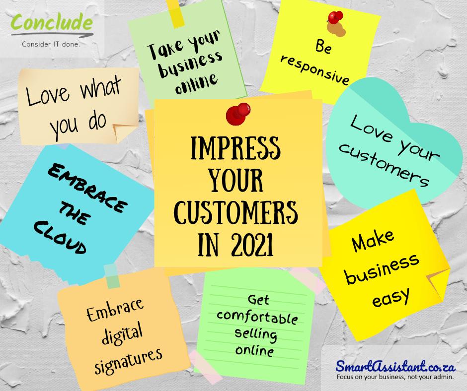 Impress Your Customer Blog Image