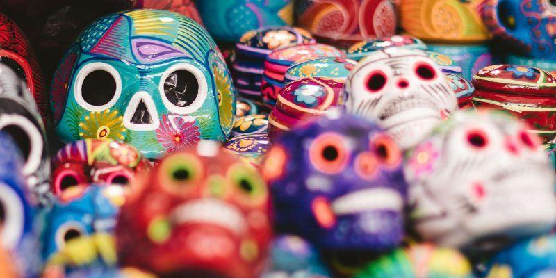 Calaveras mexicanas del Día de Muertos
