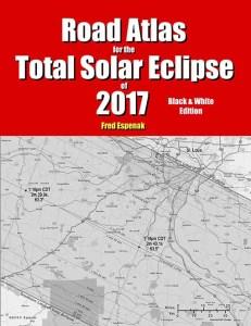 Total Solar Eclipse 2017 Road Atlas