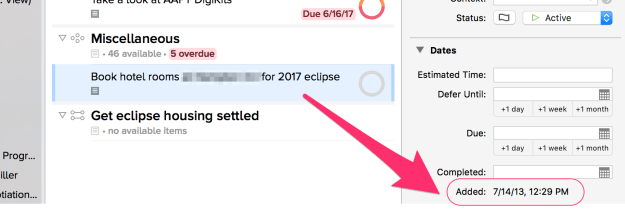 Eclipse planning to-do list
