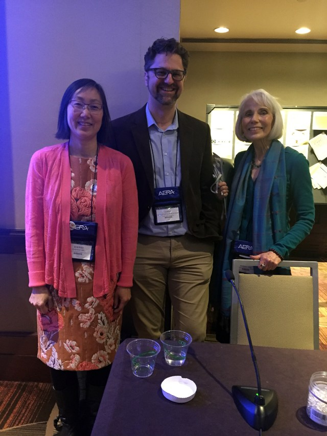 Sherry Hsi, Chris Hoadley, and Marcia Linn