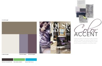 Color Palette Development: Interior Products