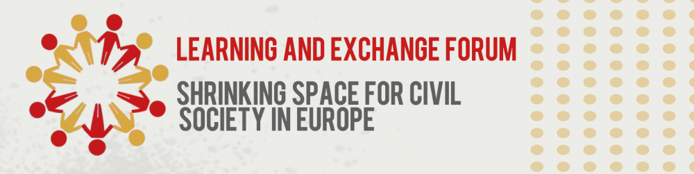 First Learning & Exchange Forum- European NGDOs addressing shrinking civic space