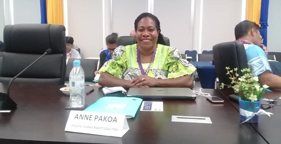 """Talking with Vanuatu Human Rights Coalition's Anne Pakoa: """"A voice stronger than ever"""""""