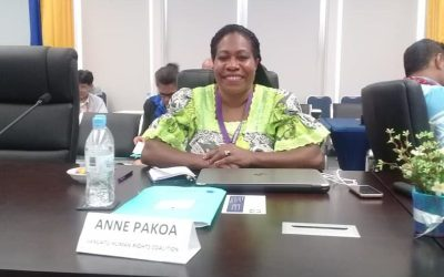 """A Stronger Voice than Ever"" :  Talking with Vanuatu Human Rights Coalition's Anne Pakoa"