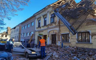 Call to action: Earthquake relief in Croatia