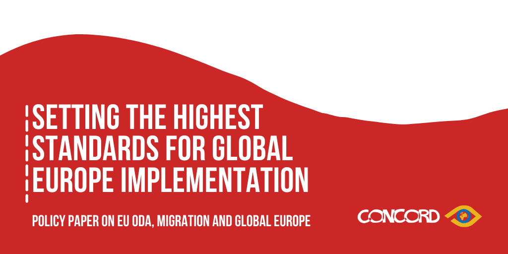 Setting the highest standards for Global Europe implementation