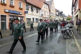Schützenzug in Bad Staffelstein