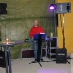 """""""Kalle"""" hat die Gäste mit seinem musikalischen Potpourri bestens unterhalten"""