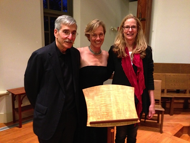Roy Chaliff presents a beautiful hand-crafted music stand