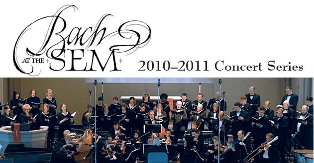 """""""Bach at the Sem"""" opening 19th season"""