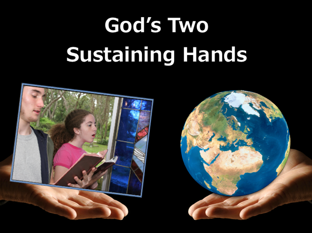 God's Two Sustaining Hands