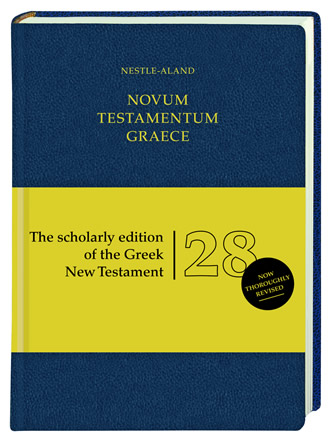 A New Edition of the Greek New Testament