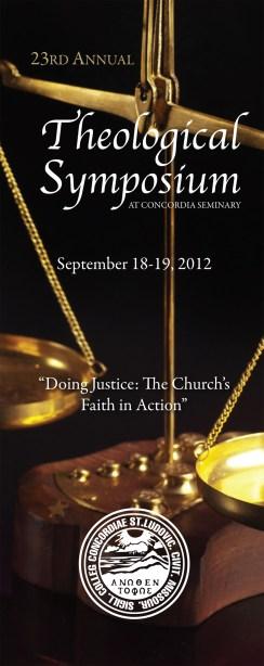 2012 Theological Symposium