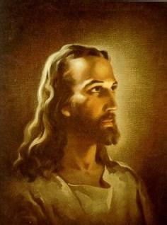Jesus, as painted by Warner Sallman