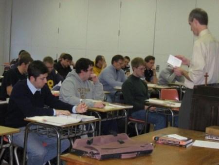 Seminary classroom