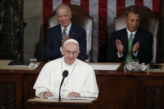 Pope Francis at Congress
