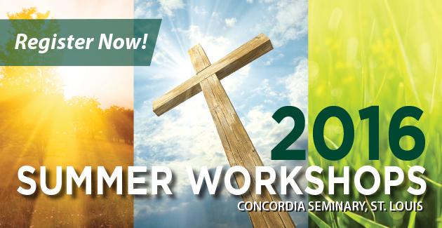 Summer workshops offered nationwide – June to August, 2016