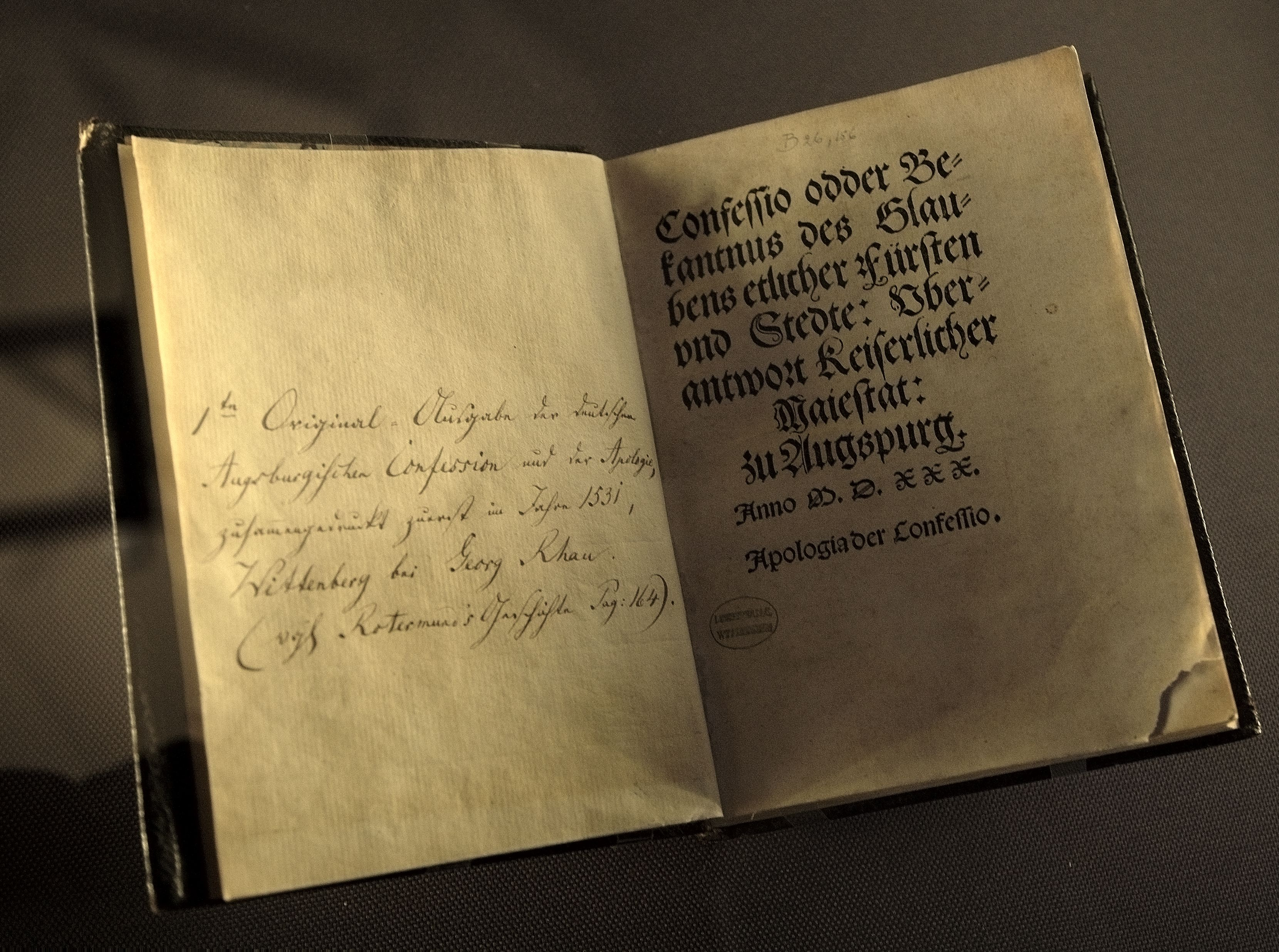Augsburg Confession Booklet Download