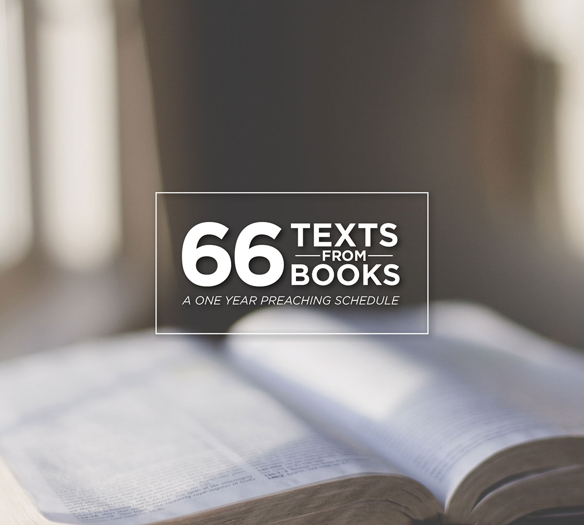 66 Texts from 66 Books