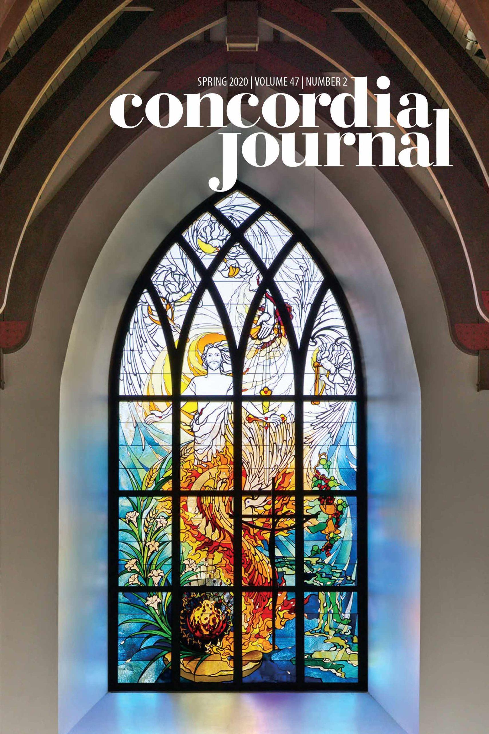 Concordia Journal, Spring 2021