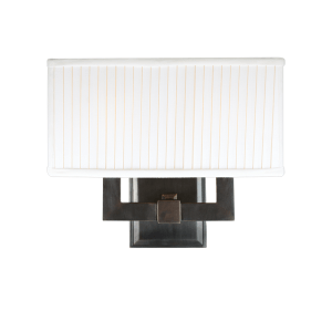 352-OB_Hudson Valley Waverly 2-Light Rectangular Wall Sconce in an Old Bronze Finish