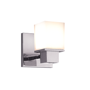 4441-PC_Hudson Valley Milford Single Light Bath Sconces in a Polished Chrome Finish