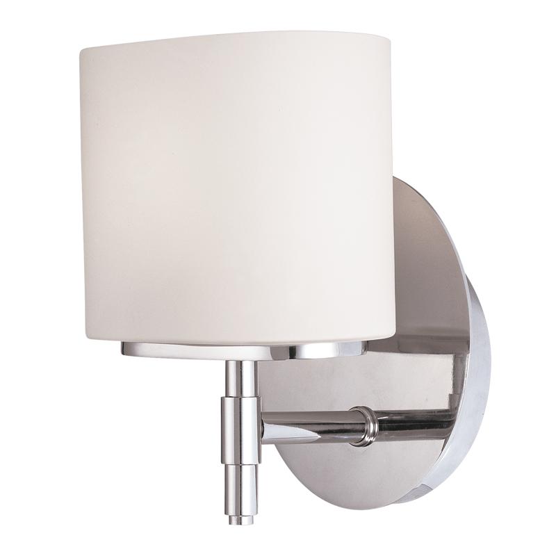 Hudson Valley Trinity Single Light, Chrome Bathroom Sconce