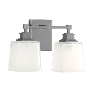 1952-SN_Hudson Valley Berwick 2-Light Bathroom Wall Light in a Satin Nickel Finish