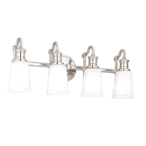 2504-PN_Hudson Valley Bradford 4-Light Bath Sconce in a Polished Nickel Finish