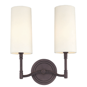 362-OB_Hudson Valley Dillon 2-Light Wall Sconce in an Old Bronze Finish