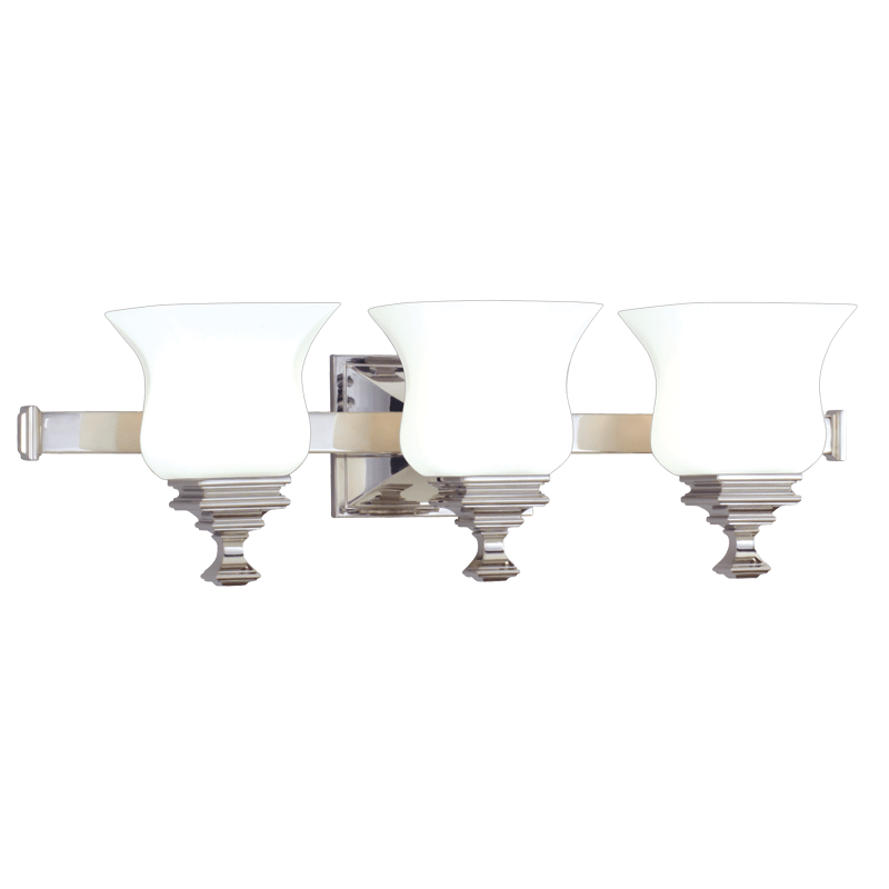 5503-PN_Hudson Valley Wilton 3-Light Bath Sconce in a Polished Nickel Finish
