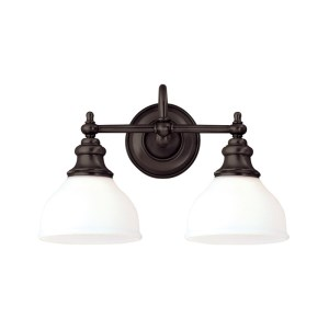 5902-OB_Hudson Valley Sutton 2-Light Bath Sconce with an Opal Shade and Old Bronze Accents