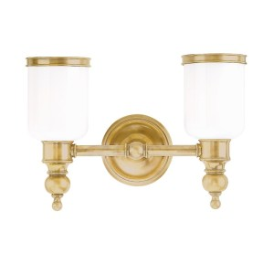 6302-AGB_Hudson Valley Chatham 2-Light Bath Sconce in an Aged Brass Finish
