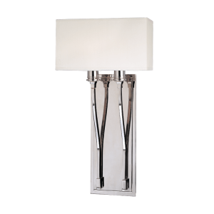 642-PN_Hudson Valley Selkirk 2-Light Wall Sconce in a Polished Nickel Finish