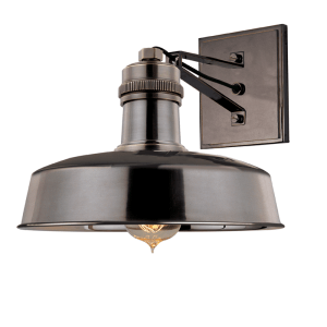 8601-DB_Hudson Valley Hudson Falls Single Light Wall Sconce in a Distressed Bronze Finish