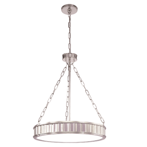 902-PN_Hudson Valley Middlebury 5-Light Pendant a Polished Nickel Finish
