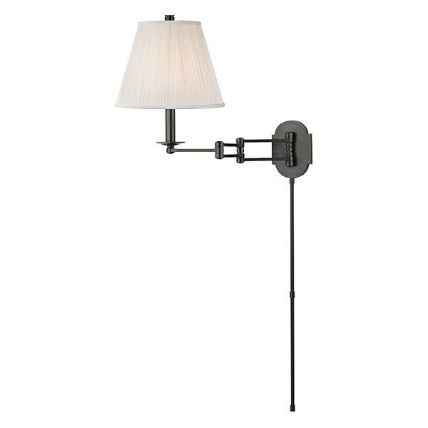 9321-OB_Hudson Valley Ravena Single Light Wall Swing Arm Lamp in an Old Bronze Finish