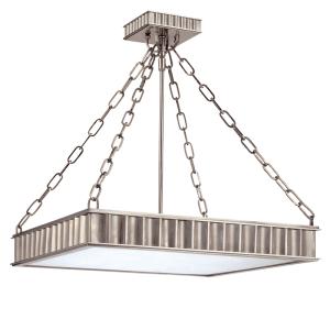 933-HN_Hudson Valley Middlebury 3-Light Semi-Flush Ceiling Mount Fixture in an Historic Nickel Finish