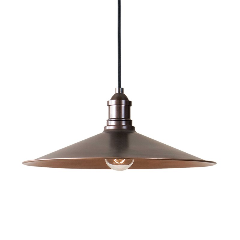 22051_Uttermost Barnstead Single Light Pendant in an Antique Copper Finish