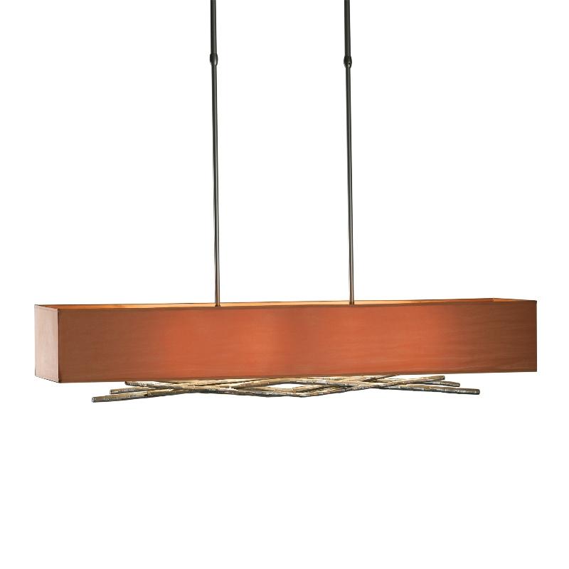 Hubbardton Forge Lamp Shades: Hubbardton Forge 4-Light Brindille Adjustable Pendant With