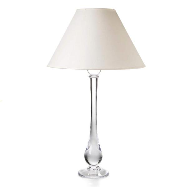 1348_Simon Pearce Blown Glass Pomfret Tall Table Lamp