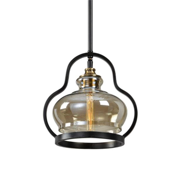 22100_Uttermost Cotulla 1 Light Mini Pendant