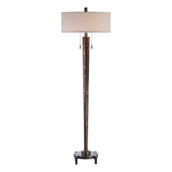 28119-1_Uttermost Rhett Burnished Oak Floor Lamp