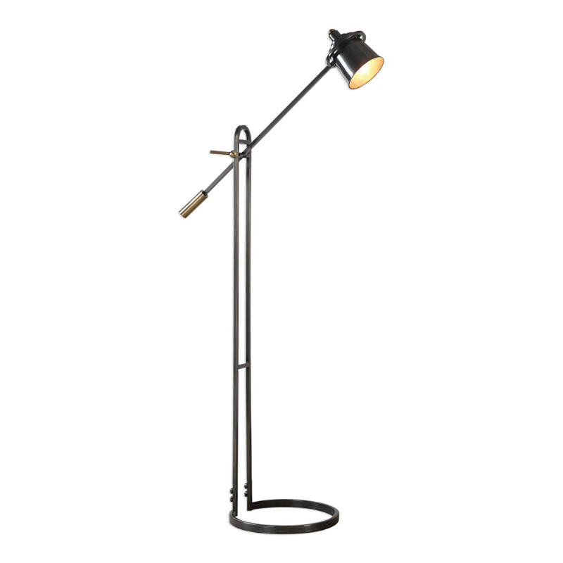 28122-1_Uttermost Chisum Dark Bronze Floor Lamp