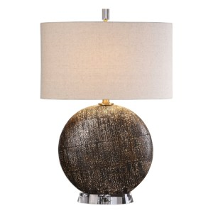 Uttermost Chalandri Rust Bronze Table Lamp 27268-1