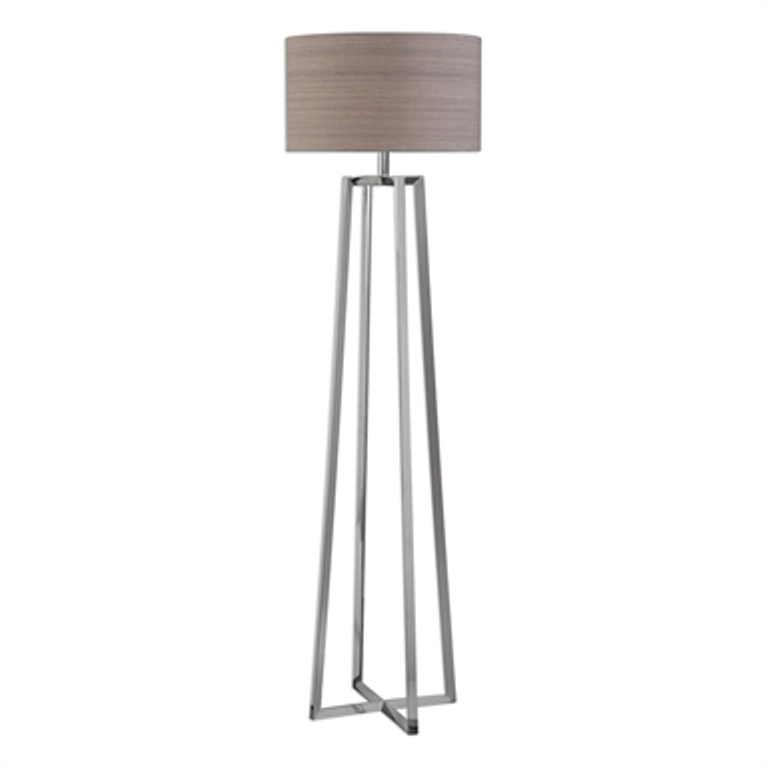 Keokee Polished Nickel Floor Lamp 28111
