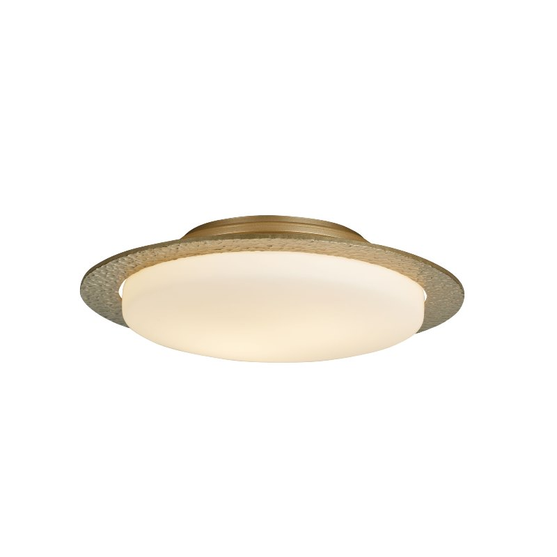 126737-84-G97_Hubbardton Forge Oceanus Flush-Mount Ceiling Fixture with Opal Glass