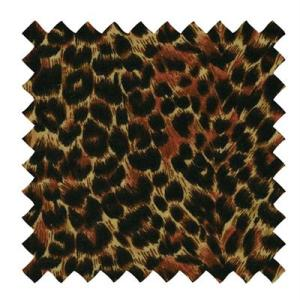 L501 - Linen Fabric in a Leopard Print